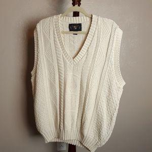 Vintage 80s knit sweater vest